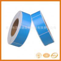 厂家直销 染色热敏纸不干胶 彩色标识 规格可定制