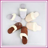 深圳厂家定制可爱家居舒适家庭温馨用棉拖鞋老人棉鞋