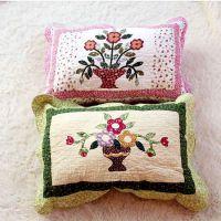 床上用品纯棉枕套全棉绗缝印花水洗枕头套厂家批发贴牌