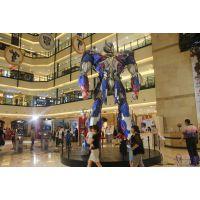 供应机器人雕塑玻璃钢变形金刚模型雕塑树脂大黄蜂道具定做