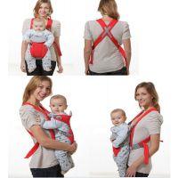 108含彩盒婴幼儿背袋 婴儿背带背袋 婴儿抱带横抱袋 双肩宝宝背袋