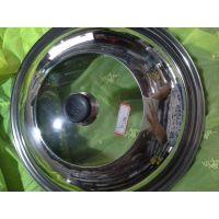 不锈钢组合盖,钢化玻璃盖,炒锅,汤锅,电热锅锅盖