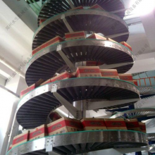 河南生产螺旋升降机厂家_简易送料机_郑州水生机械