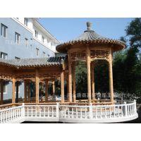 黑龙江嘉轩园林提供仿古建筑亭子制作廊子制作牌楼制作 水泥亭子