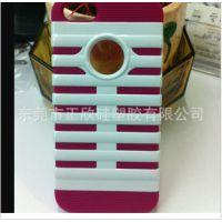 新款iPhone4 麦克风硅胶手机套/厂家直销硅胶套/欢迎定做