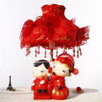 白头偕老!创意树脂工艺台灯摆件 结婚用品 婚房装饰品 SF753