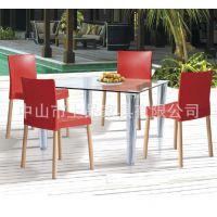 专业厂家供应休闲时尚SP-UC022 塑料餐椅|塑料椅子桌椅组合完善配套