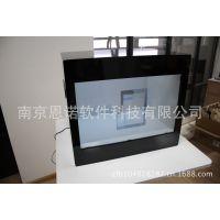 江苏厂家供应12.1~65寸 大尺寸展馆展厅透明液晶展示柜