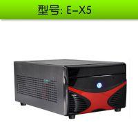 立人全兼容机箱E-X5 双硬盘 标准显卡 ATX 电源,HTPC机箱