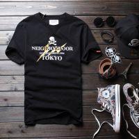 2015男式t恤男装新款余文乐骷髅头3M反光闪电款百搭纯棉男式短袖