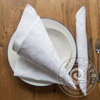 酒店餐厅热用桌布 可定做全棉白色时尚设计新款餐巾