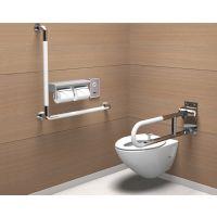 爱心公厕残疾人扶手 马桶扶手 专业洗手间残弱人如厕扶手架