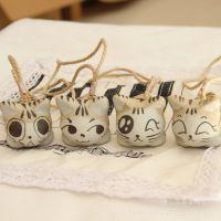 非著名的可爱小猫情侣挂件 包包挂 表情多样 根据库存随机平均发