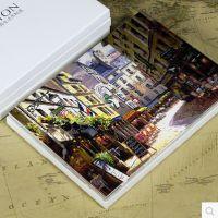 风景 明信片/可邮寄/纸盒装 16张/套 可定制