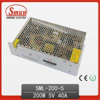 供应5V 40A LED开关电源 200w 监控开关电源