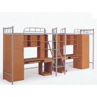 供应实木双层床 学校公寓床
