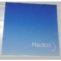 厂家直销超细纤维热转印眼镜布 印花清洁布(价格实惠 质量可靠)