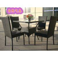 藤椅 藤制户外休闲家具 成套户外餐桌椅  厂家低价批发供应
