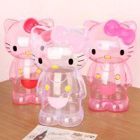 Hello Kitty卡通透明塑料储钱罐 硬币存钱罐 儿童创意生日礼物