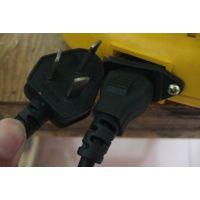 电线直销C13品字尾3C插头电源线电脑主机电源线按摩器电源线
