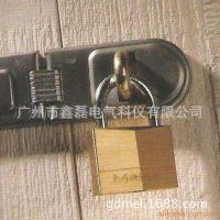 现货供应master lock耐腐蚀防撬黄铜挂锁 防盗挂锁 120MCND