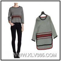 Designer Women Fashion Sweater Crocheted Winter Wool Sweater