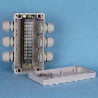 斯普威尔三进三出 防水盒套装 防水端子盒 路灯接线盒