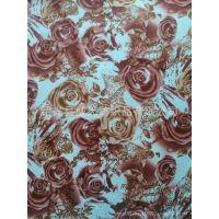 数码印花 涤纶面料服装面料 数码印花厂品质优色彩鲜艳花型新颖