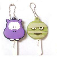 可爱卡通PVC钥匙套钥匙扣 韩国创意礼品钥匙套 厂家直销