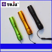 YOJA迷你小手电 5号电池手电 强光小手电 LED铝合金手电