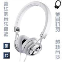 金属头戴护耳式手机MP3电脑耳机耳麦 超棒音质奢华时尚 厂家批发