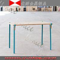 户外便携式休闲组合餐桌 河北霸州工厂直销 优耐金属制品