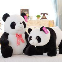 新年批发 大号可爱纸熊猫 填充毛绒玩具 公仔玩偶 礼品 招代理