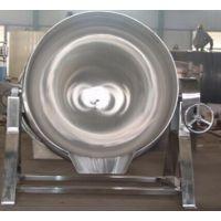 万利源100L蒸汽夹层锅 立式可倾夹层锅 厨房煮粥锅