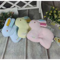 婴吉儿兔子枕宝宝枕 纯棉婴儿枕糖果型婴儿定型枕头儿童枕 40035