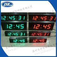 【厂家直销】温湿度看板时间显示屏 时钟温湿度看板双面led显示屏