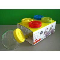 厨房用品储物罐糖盐罐盒储物宝四件套家居促销商务礼品定制