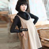 日韩女装韩版新款孕妇装大码连衣裙两件套连衣裙孕妇裙批发代发