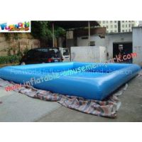 0.9mm Durable square PVC Inflatable Water Pools Used in the Shopping Mall, water toys