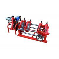63-200双柱手摇丝杆热熔对接焊机 四环对焊机 手动热熔对接焊机 焊管机