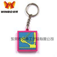 【广告促销礼品】卡通软胶钥匙扣,诸葛亮公仔造型PVC钥匙扣 塑胶钥匙扣