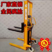 上海品牌液压堆高车1t  手动液压装卸车  液压叉车 支持混批