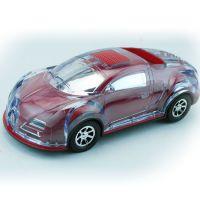 厂家直销 JHW-V128 布加迪车模插卡音箱 LED彩灯便携式迷你音响