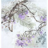 Chinese Ink Landscape Painting for Decoration
