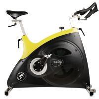 供应供应大包围加粗中轴不锈钢健身房商用动感单车(GREEMOTION008)