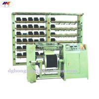 Automatic rubber warping machine