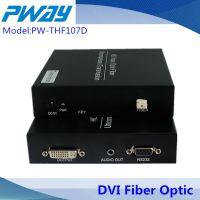 DVI光端机,DVI-D数字无压缩光端机,单模单芯,信号无损,1080P视频光端机
