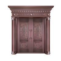 上海美捷尔铜艺定制—别墅铜门、进户铜门、工程铜门
