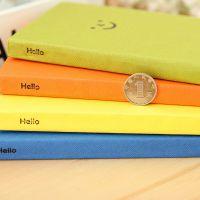 韩国创意文具 恋の微笑表情硬抄笔记本 日记本可爱学生记事本
