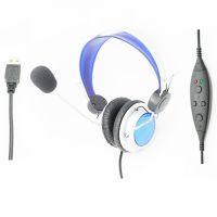 供应电脑耳机带麦克风 USB 2.0电脑耳机带麦克风
